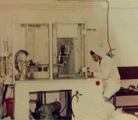 طراحي و ساخت خط توليد سرنگ يکبار مصرف