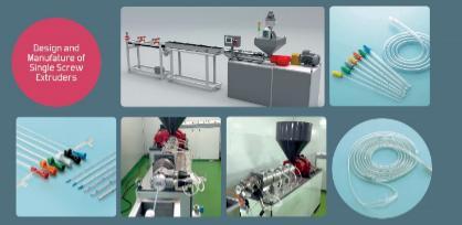 دستگاه اکسترودر تولید لوله های پزشکی