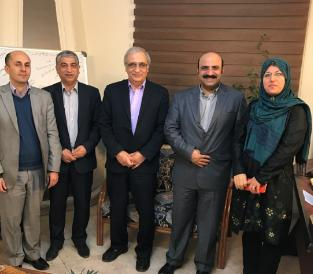 Together with the Economic Board of Iran in the municipality of Vienna
