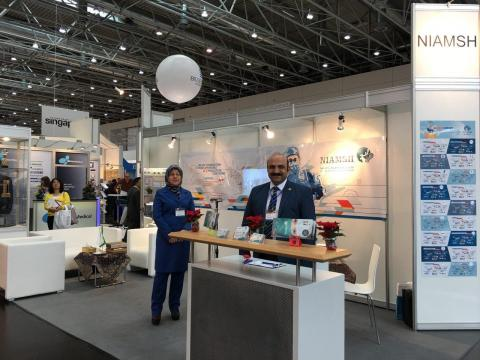 medical equipment manufacturing factories at Emirates Health Arab Exhibition in 2017