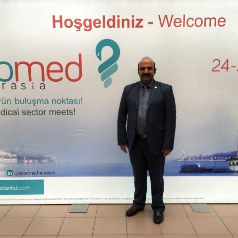 نمایشگاه اکسپومد در زمینه تولید تجهیزات پزشکی ترکیه در شهر استانبول در سال ۲۰۱۶