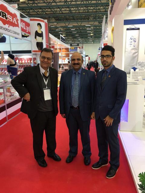 نمایشگاه تجهیزات پزشکی اکسپومد ترکیه در شر استانبول در کنار مهندس یارقلی نماینده دستگاه های استریل د