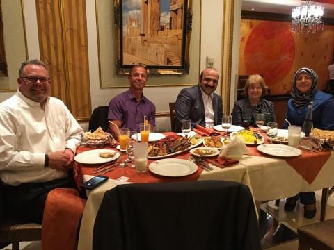 جلسات مشترک با مسولین بخش سرمایه گذاری ایالت مینیسوتا آمریکا