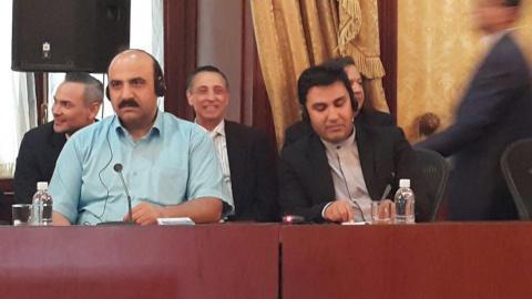 جلسه اقتصادی با مسولین کشور ونزوئلا
