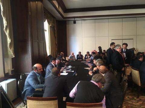 جلسه با فعالین اقتصادی شیلی