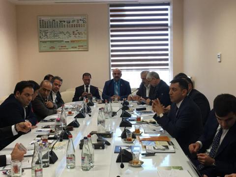 جلسه در پارک علم و فناوری کشور آذربایجان