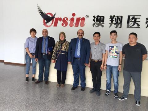 دیدار از کارخانه تولید لوله لوله های خونگیری تحت خلا در چین