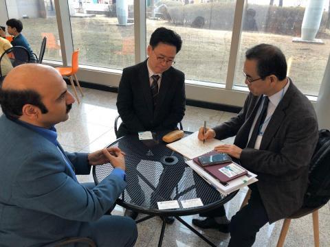 دیدار با فعالان تجهیزات پزشکی به دعوت مرکز تجارت و سرمایه گذاری کره جنوبی