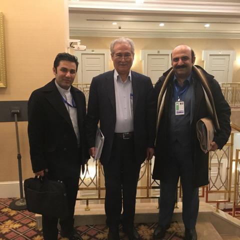 دیدار با کاردار بازرگانی ایران در قزاقستان در شهر آستانا