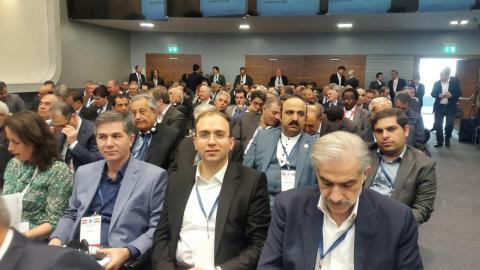 گروه اقتصادی ایران در محل اتاق اقتصاد اتریش