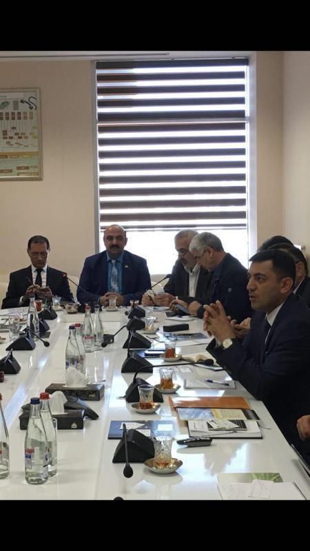سفر تجاری به کشور آذربایجان در شهر باکو در کنار معاون علمی ریاست جمهوری آذربایجان
