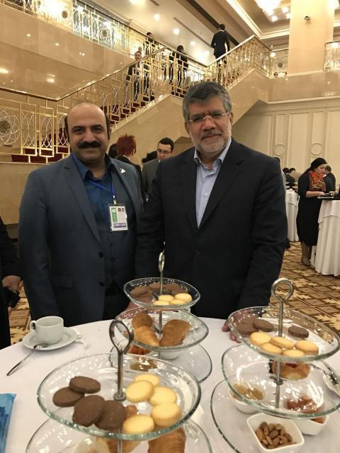 هیات تجاری ، سفر قزاقستان در کنار آقای دکتر خسروتاج ریاست سازمان توسعه تجارت در شهر آستانا