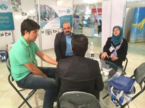 در کنار فعالان مهندسی پزشکی استان آذربایجان شرقی