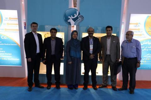 در کنار مدیران شرکت طب کیهان
