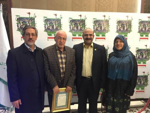 دکتر احمد ظهیرنیا ریاست بنیاد خیریه ژنتیک سلامت نسل فردا