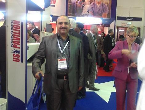 نمايشگاه تجهيزات پزشکي عرب هلث 2010