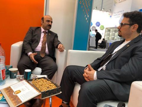 دکتر علی عماری الهیاری عضو هیت مدیره اتحادیه صادرکنندگان تجهیزات پزشکی