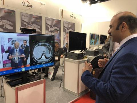 نمایشگاه عرب هلث مهندسی پزشکی سیمیلاتور