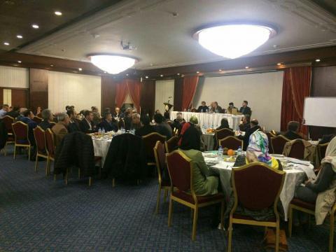 جلسه اتحادیه بازرگانان تجهیزات پزشکی